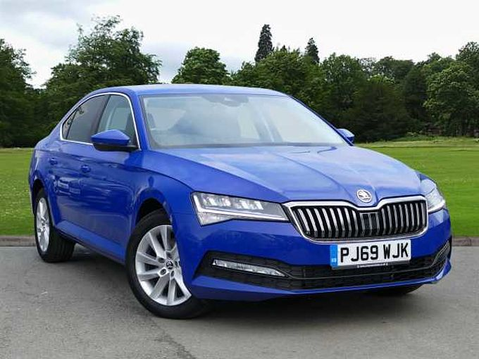 SKODA Superb 1.6 TDI (120ps) SE Technology SCR DSG Hatch