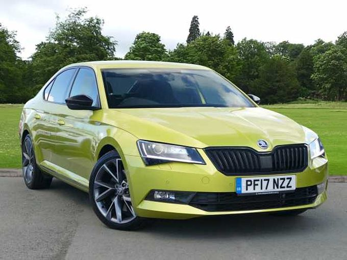 SKODA Superb 2.0 TSI (280ps) 4X4 SportLine DSG 5Dr Hatch