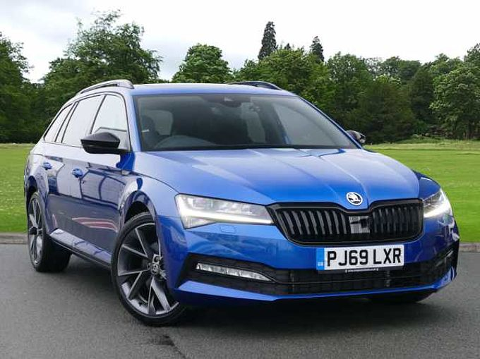 SKODA Superb 2.0 TSI (190ps) SportLine Plus DSG Estate